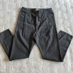 ZARA boys gray pants size 11/12